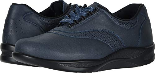 SAS Women's Walk Easy Indigo/Blueberry 8 W - Wide (C) US (Best C Walk Shoes)