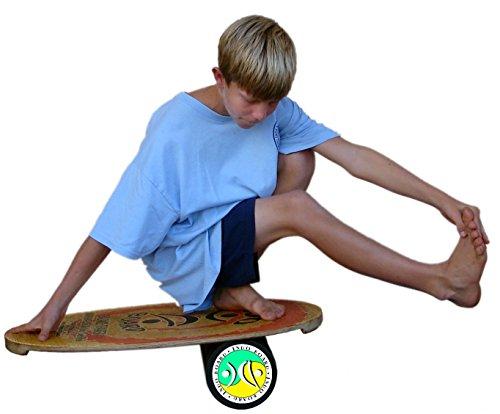 Indo Board Balance Board Mini Original Training Kit for Kids - Balance Board, Roller and Cushion by Indo Board Balance Trainers (Image #4)