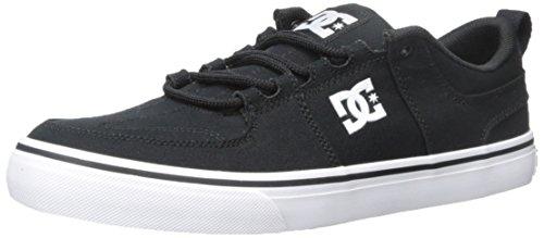 DC Lynx Vulc TX Skate Shoe, Black, 9 M US