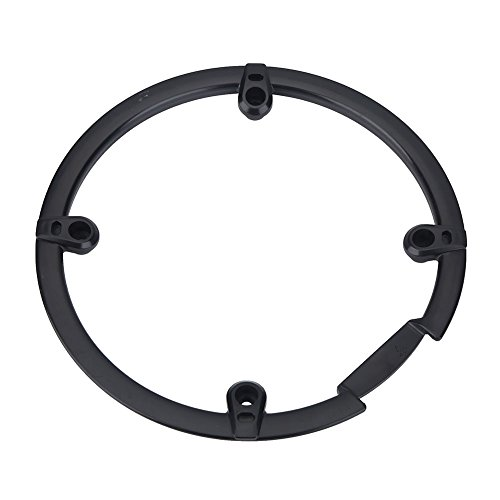 Chain Guard Protector, Black Plastic Chain Wheel Crankset Cover for Mountain Bike by VGEBY (Image #3)