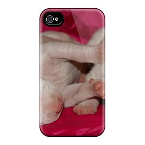 High Quality Puppies Argentine Dog Tpu Case For Iphone 4/4s