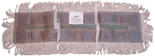 (Zephyr 23536 Natural Cotton Yarn Disposable Dust Mop Head, 36
