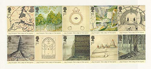 Great Britain, Postage Stamp, 2192a Mint NH, 2007 Lord of Rings, JFZ