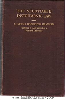 Negotiable instruments law reviewer