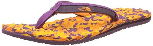 marrone Multicolore Face Campo Delle Donne Mini Corallo The North Flop Base Flip OqwBq1