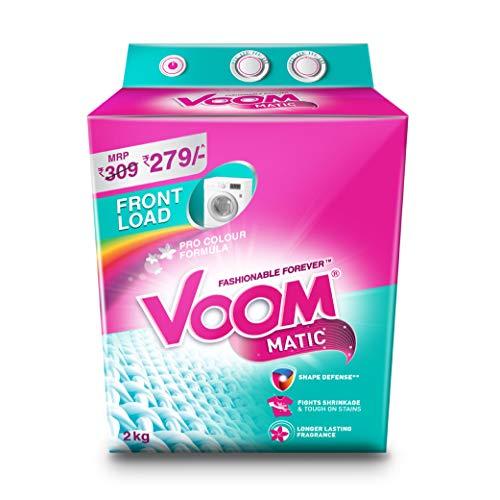 Voom Matic Front Load Detergent Powder, 2Kg (B081HZ452L) Amazon Price History, Amazon Price Tracker