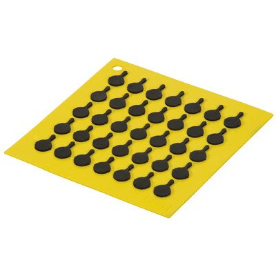 Square Silicone Trivet Color: Yellow by Lodge