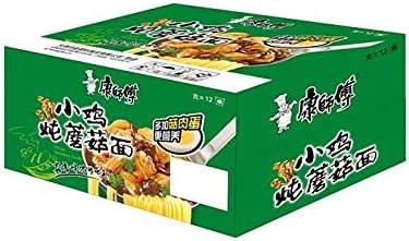 康師傅 小鳥炖蘑菇面 インスタントラーメン 即食面 5食×6点