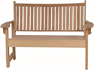 product image for Furniture Barn USA 4 Foot Unfinished Cypress Wood Outdoor Royal Garden Bench