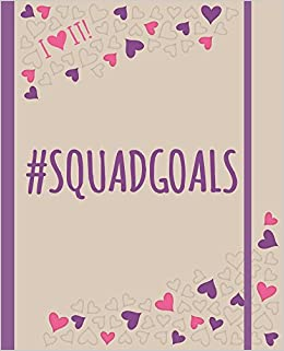 I Heart It! #squadgoals: An I Heart It! Journal And Activity Book All About #squadgoals For Bffs. Plan It, Live It, <3 It! Descargar PDF