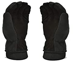 The Craftsman carefully selects the best Deerskin leather. Adopting delicate and smooth sewing craft, focus on every detail to premium quality and durable performance of the warm Deerskin Winter glove. Handmade Deerskin gloves for men and Wom...
