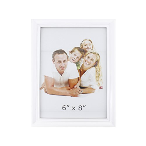 Two Hearts Picture Frame with 3 Collage Frame (White) - 4