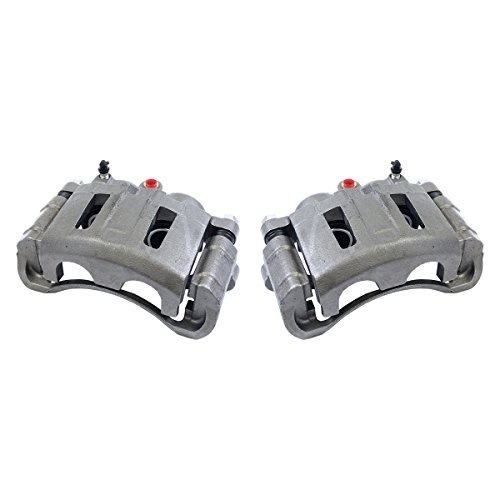 CCK02941 [2] FRONT Premium Grade OE Semi-Loaded Caliper Assembly Pair Set