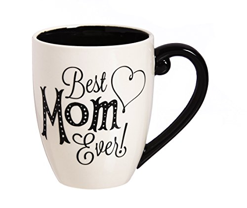 affordable Mom Black Ink Cup with Box - 4 x 6 x 5 Inches