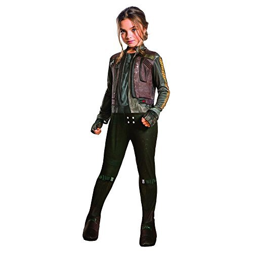 Onceuponasale Jyn Erso Small 4-6 Girls Costume Star Wars Rogue One Halloween Dress up