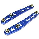For Honda Civic/CRX/Del Sol/Integra Aluminum Rear Lower Control Arm Kit (Blue) - EC ED EG EH EJ DC2