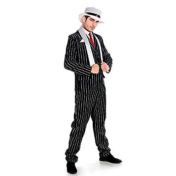 Partilandia Disfraz Gangster Traje Hombre Adulto para Carnaval L ...