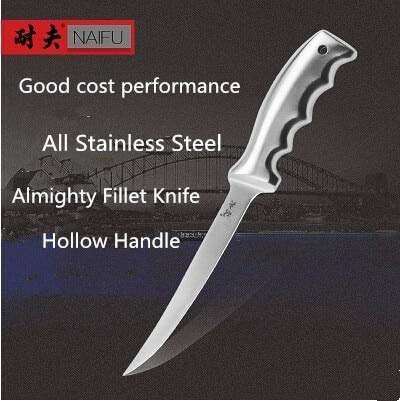 Best Quality - Kitchen Knives NEEF Stainless Steel Kitchen Fillet Knife Stainless Steel Eviscerate Fish Sculpture Knife - by LINAE - 1 PCs