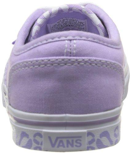 Vans Z Atwood Low (Cheetah), Damen Sneaker Violett - Violet (Paste)