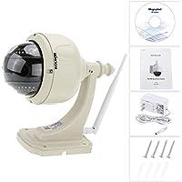 KKmoon 3.5 H.264 HD 720P 2.8-12mm Auto-focus PTZ Wireless WiFi IP Camera Security CCTV Camera Home Surveillance