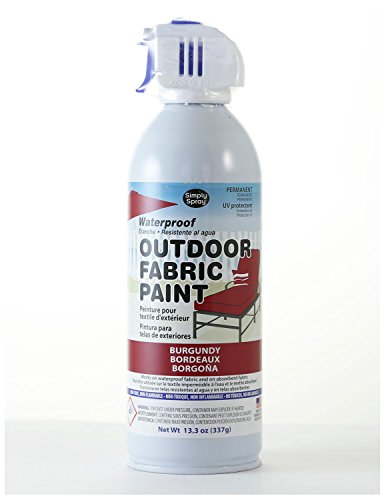 upholstery fabric paint red - 8