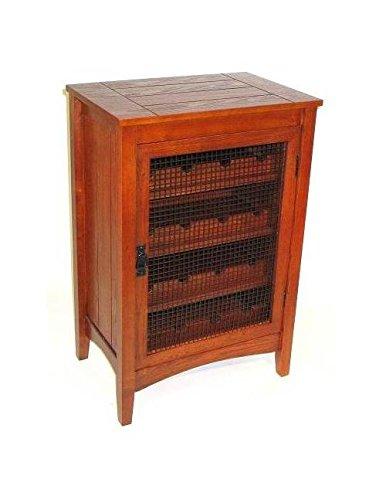 Charleston Hugo Wine Cabinet, Oak by Charleston