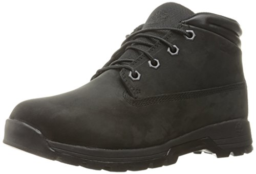 Timberland Mens Stratmore Mid Boot Black Nubuck