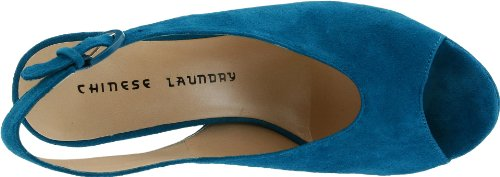 Chinese Laundry First Stop Donna Camoscio Tacchi Alti