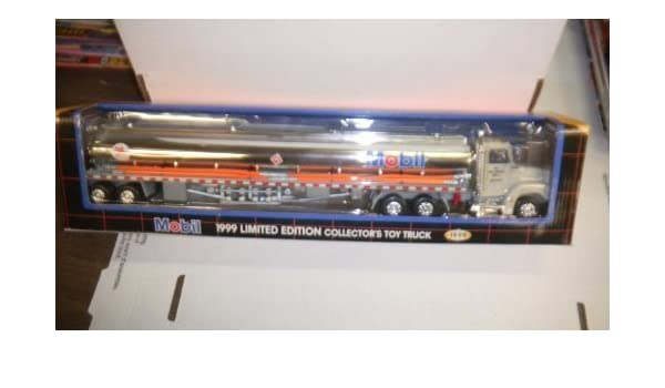 Mobil Toy Race Car Carrier 1994 2nd in Series in Box MIB Free Shipping