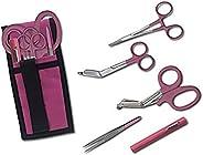 Emergency Medical International EMI Colormed Holster Set, Pink