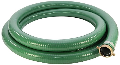 (Abbott Rubber PVC Suction Hose Assembly, Green, 3