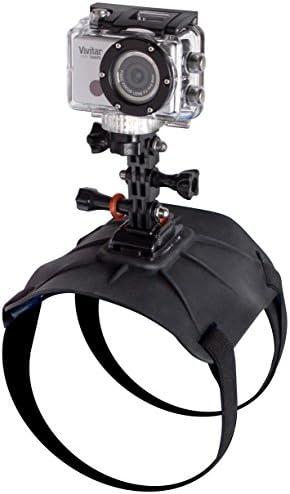 Navitech Adjustable Shoulder Body Strap Harness Mount Holder Compatible with The Vivitar DVR 936HD LifeCam Air Air Vivitar DVR798HD LifeCam