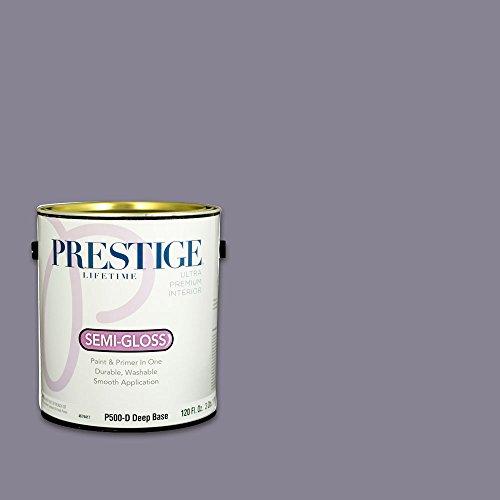 Iris Mist (Prestige, Blues and Purples 4 of 8, Interior Paint and Primer In One, 1-Gallon, Semi-Gloss, Iris Mist)