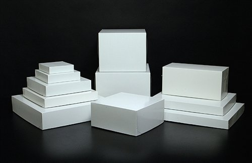 White Assorted Size Gift Wrap Packaging Christmas Present Boxes - 20 Pack by Holiday Time