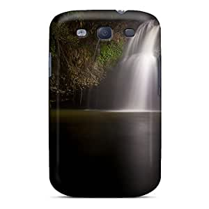 High Quality Rgwens Dark Flowing Skin Case Cover Specially Designed For Galaxy - S3