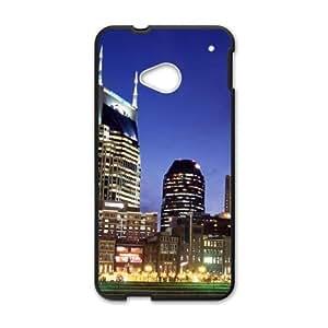 Batman building HTC One M7 Cell Phone Case Black WUU