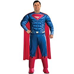 Rubie's Justice League Deluxe Adult Superman Costume, Plus Size