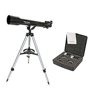 Celestron PowerSeeker 70AZ Telescope + Celestron PowerSeeker Accessory Ki