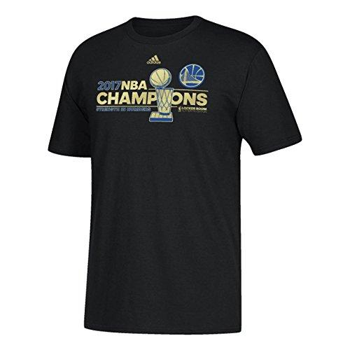 adidas Golden State Warriors 2017 NBA Finals Champions Locker Room T-Shirt (XXX-Large)