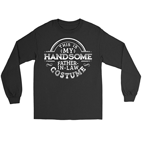 Teelaunch Last Minute Costume Ideas - Handsome Father-in-Law Long Sleeve T-Shirt, 2XL