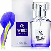The Body Shop White Musk Eau de Toilette, Paraben-Free Perfume, 1.0 Fl. Oz.