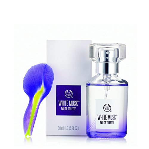The Body Shop White Musk Eau de Toilette, Paraben-Free Perfume, 1.0 Fl. Oz.