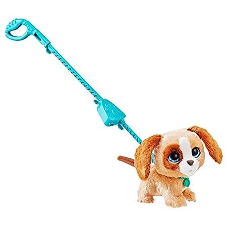 Hasbro FURREAL Friends E4780ES2 Großer Racker Luna, niedlicher Hund für tollen Gassi-Spaß, Multicolor