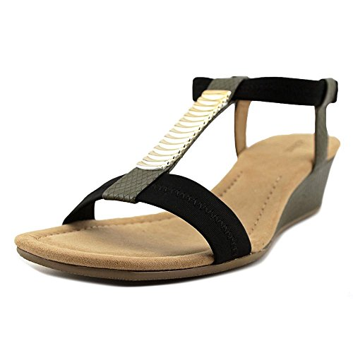 US 5 Women Green Vacay Alfani 9 US Vacay 9 Women Alfani Wedge 5 Sandal xwCwT6