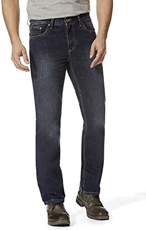 Hero Denver Regular Straight Rigid Jeans 7100 - Deep Blue: Odzież