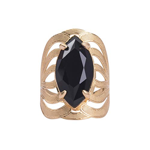 My Jewelry Spot 14K Yellow Gold Filled Ring, Cubic Zirconia Marquise Shape Claw Stone Setting, Party Ring for Woman (8)