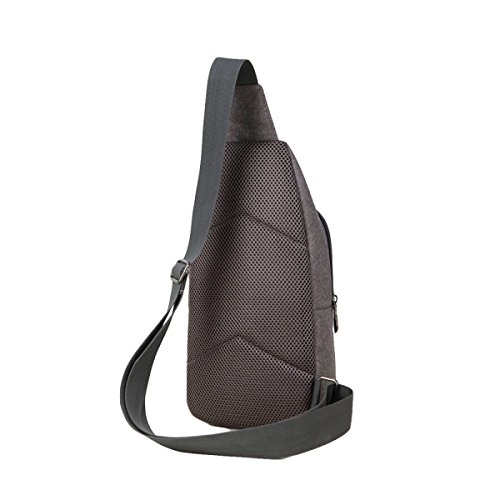Oxford Black Chest Cloth Men's Bag Package Leisure Sports Diagonal Shoulder gqvRgxrHw