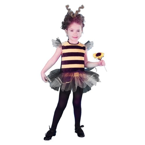 Lets Party By Forum Novelties Inc Bee Mine Toddler Costume / Black/Yellow - Size 2-4T