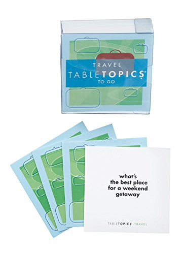 - Table Topics Travel Topics To Go Game Question Travel Cards