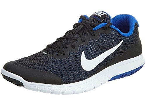 c3c68ab6b072 picture of Men s Nike Flex Experience Run 4 Running Shoe Black Racer  Blue White